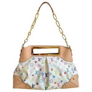 Authentic Louis Vuitton Multicolore Judy GM  Bag